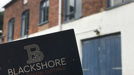 Blackshore Clothing Company is opening a pop-up shop in Southwold. Picture: NEIL DIDSBURY