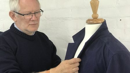 Simon Middleton, owner of Blackshore Clothing Company, which is opening a pop-up shop in Southwold.