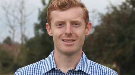 Jake Richards has become the new Essex county farm adviser for the National Farmers' Union. Picture: