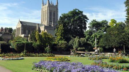 Police received a report of a child being approached by a couple in the play area at Abbey Gardens P