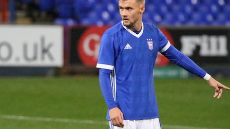 Shane McLoughlin, formerly of Ipswich Town, is now an AFC Wimbledon player. Picture: ROSS HALLS