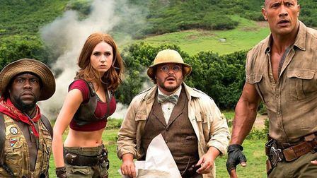 Jumanji: The Next Level brings our intrepid explorers back into the jungle for more comic hi-jinks P