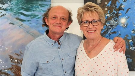 Chris Newson and Carole Massey have forged an artistic alliance and want to take their show on the r