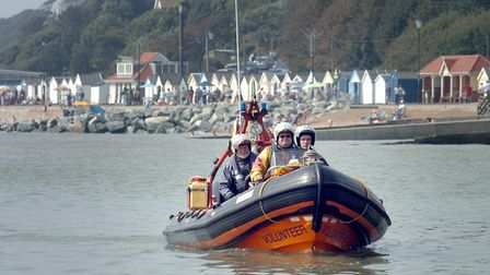 The volunteer coast patrol helped 28 peiople over the bank holiday weekend, close to Felixstowe and