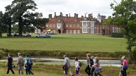 Walk with a Fork Pictures: Ormiston/Helmingham Hall