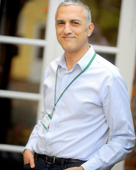 Healthwatch Suffolk Chief Executive Andy Yacoub Picture: GREGG BROWN