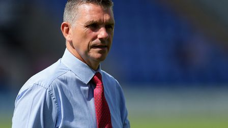John Askey didn't last long as Shrewsbury manager. He's now in charge of Port Vale. Photo: PA