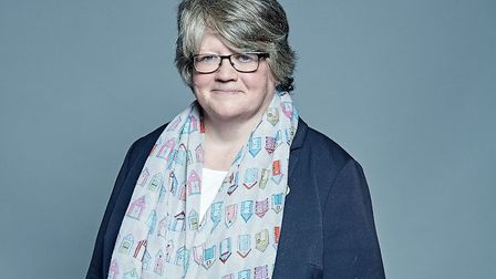 Suffolk Coastal MP Therese Coffey has requested a break up of the region's abulance service Picture: