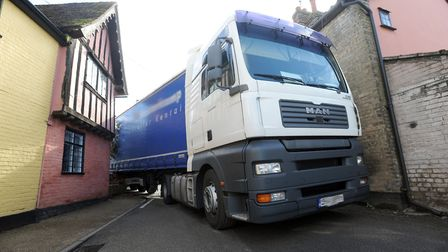 Weight Restriction Orders are designed to prevent lorries from areas unsuitable for their size Pictu