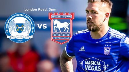 Ipswich Town take on Peterborough United this afternoon.