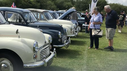 Thousands of car enthusiats turned up to the Stonham Aspal Car Classic Show. Picture: Victoria Pertu