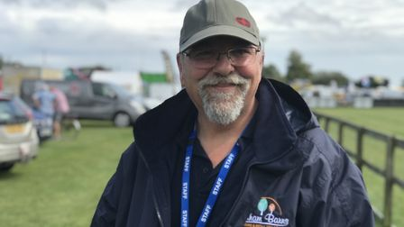Gary Newland, Event Manager. Picture: Victoria Pertusa