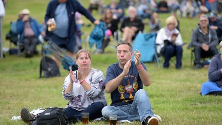 Crowds enjoyed a one off gig by the Broadside Boys Picture: SARAH LUCY BROWN