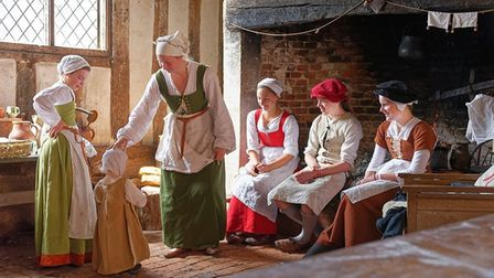 Visitors can watch more than 200 Tudor re-enactors Picture: MIKE PLAYER