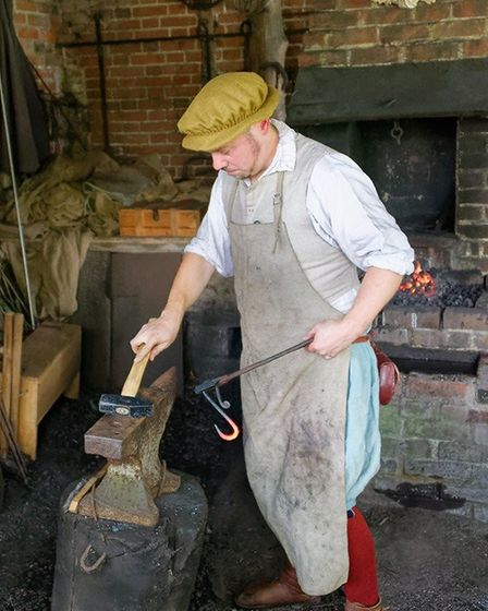 Visitors can watch more than 200 Tudor re-enactors Photo: MIKE PLAYER