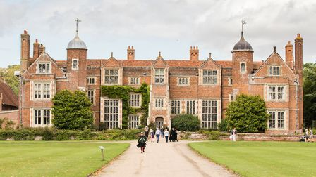 Kentwell Hall at Long Melford, near Sudbury Picture: PAUL SILLENCE