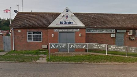 A defibrillator was stolen from FC Clacton Picture: GOOGLE MAPS