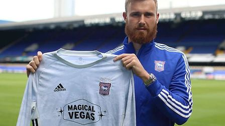 Will Norris will battle Tomas Holy to be Town's first choice keeper. Picture: ITFC