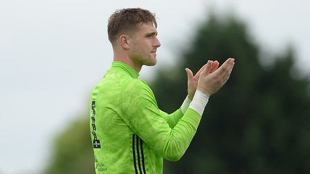 Will Norris will battle fellow summer signing Tomas Holy (pictured) for the goalkeeper's spot. Photo