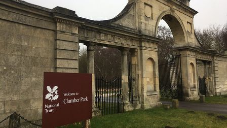 The entrance to Clumber Park, the home of the weekly Clumber Park parkrun in Nottinghamshire. Pictur