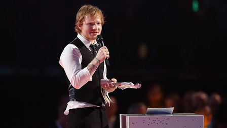 Ed Sheeran is set to perform four homecoming concerts in Ipswich this weekend Picture: YUI MOK/PA WI