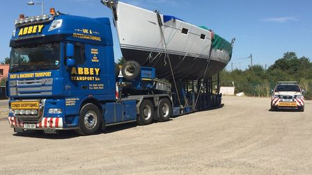 A previous abnormal load transported through Suffolk Picture: NS ROADS POLICING & FIREARMS UNIT
