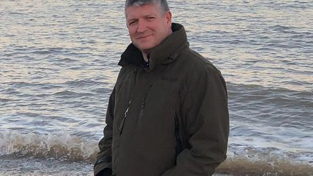 Well-known Stowmarket estate agent Richard Buck who has died after a short battle with cancer. Pictu