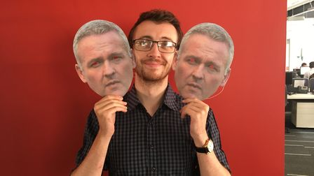 Your chance to look like Ipswich Town manager Paul Lambert this Saturday Picture: ARCHANT