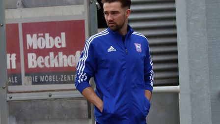 Gwion Edwards was back in the Ipswich side at Luton. Photo: Ross Halls