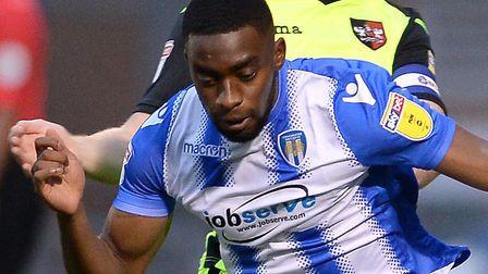 Ipswich Town are close to completing a deal for Colchester's Kane Vincent-Young. Picture Pagepix