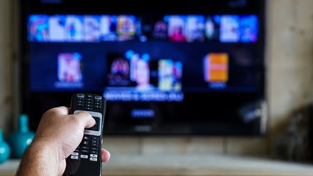 A television was stolen in the burglary in Woodbridge. Picture: GETTY IMAGES