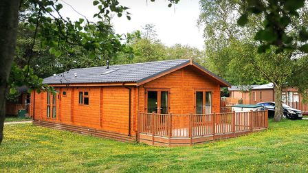 A luxury lodge at Norfolk Park which was owned by Dream Lodge Group Picture: GREGG BROWN