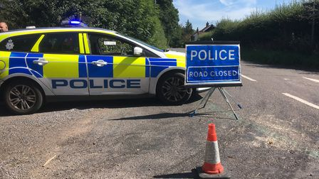 A man has died following a crash in Redgrave near Diss Picture: SIMON PARKIN