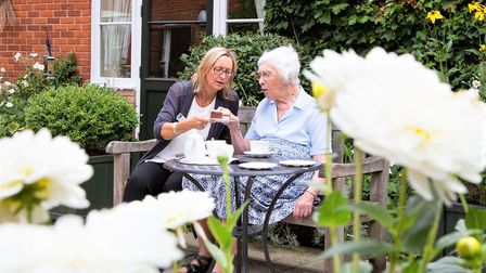 """Grove Court care home in Woodbridge have achieved an """"outstanding"""" result after their CQC inspection"""