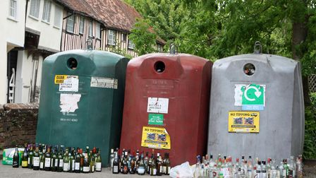 Could improved glass bottle recycling services be greener than a deposit return scheme? Picture: Dav
