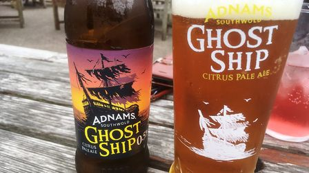 A bottle of Adnams Ghost Ship low alcohol. Picture: DAVID VINCENT