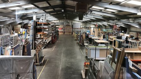 Frem Group Screens' new factory in Haverhill. Picture: PHIL DINGLEY