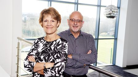 Bryan and Claire Daisy, founders of The Frem Group. . Picture: PHIL DINGLEY