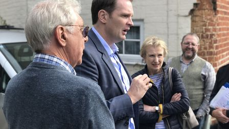 Dr Dan Poulter has supported residents opposed to the new bypass. Picture: NEIL PERRY