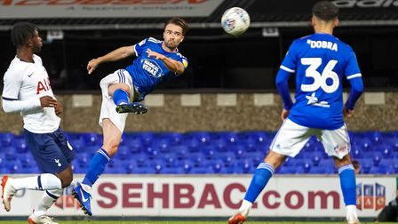 Gwion Edwards played as a wing back in the EFL Trophy. Picture: Steve Waller www.stephenwaller