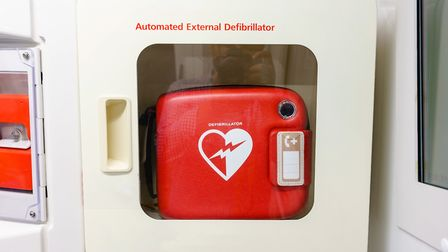 A defibrillator was found to be stolen from Marks Tey train station after members of the public were