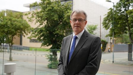 James Reeder, Suffolk County Council's cabinet member for public health and protection Picture: SUFF