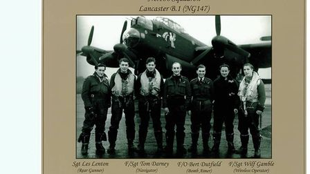 The whole crew of Lancaster NG147C (Champagne Charlie) died. They were of 186 squadron from RAF Stra