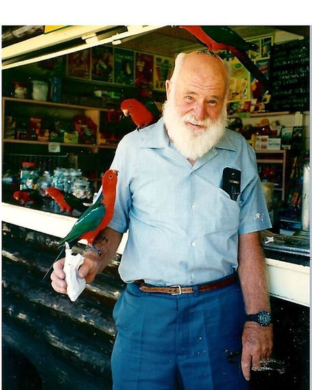 Goerge Duffy, the survivor of the Stirling MZ262 crash, in later life Picture: CONTRIBUTED