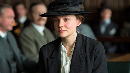 Carey Mulligan, seen here in Suffragette, will be playing the role of Edith Pretty in The Dig. Pictu
