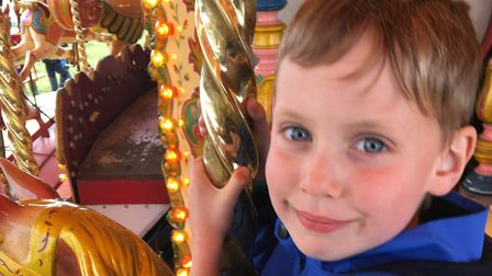 Oliver Hall , six, from Halesworth, died in October 2017 Picture: Bryan and Georgie Hall