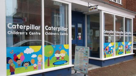 Caterpillar Childrens Centre in Woodbridge risks closure in the new cuts planned by Suffolk County