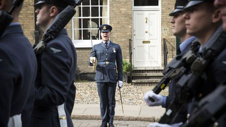 The Battle of Britain Memorial parade takes place in Bury St. Edmunds on Sunday September 15 Picture