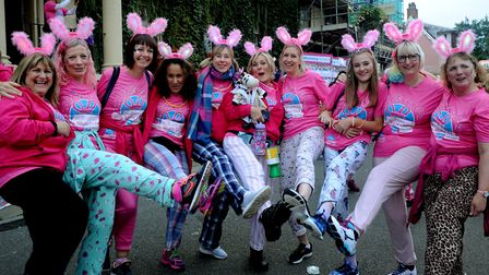 The Girls Night Out is a fun event that raises thousands of pounds for St Nicholas Hospice Care PICT