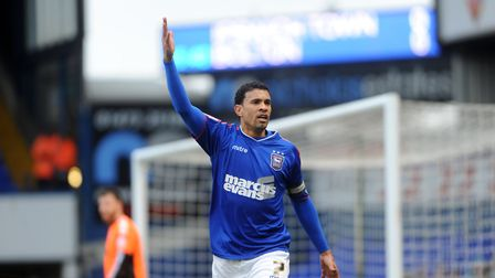 Carlos Edwards was converted from a winger to a right-back. Picture: ARCHANT